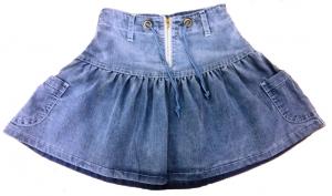 Юбка джинсовая 1525 р.140
