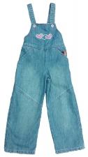Комбинезон джинсовый для девочек 1805 р.92