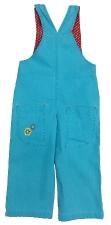 Комбинезон джинсовый для девочек 1807 р.86